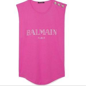 Balmain pink tank